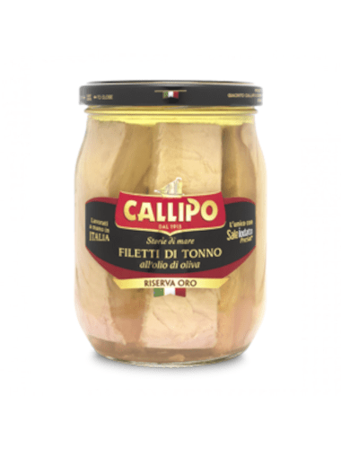 Filetti di Tonno all'Olio di Oliva Callipo